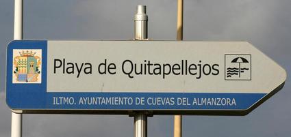 Playa Quitapellejos, Palomares, Almería