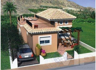 2 Bedrooms Bedroom Villa in Huercal-Overa