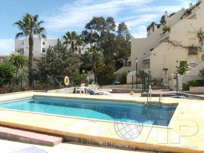 2 Slaapkamers Slaapkamer Appartement in Mojacar Playa