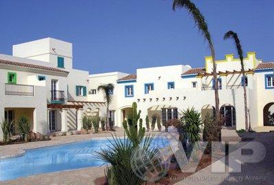 2 Slaapkamers Slaapkamer Rijtjeshuis in Vera Playa