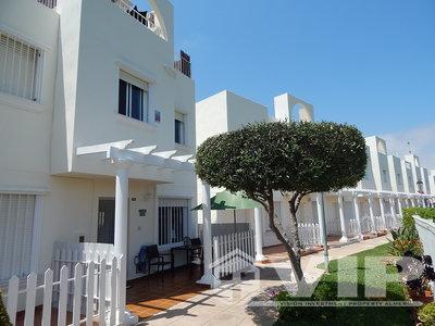 2 Schlafzimmer Schlafzimmer Stadthaus in Vera Playa