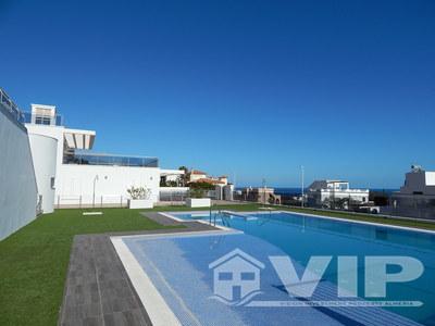 4 Slaapkamers Slaapkamer Appartement in Mojacar Playa