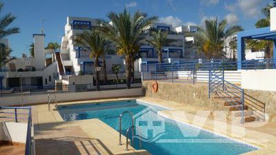 2 Habitaciones Dormitorio Apartamento en Mojacar Playa