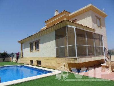 4 Slaapkamers Slaapkamer Villa in Vera Playa