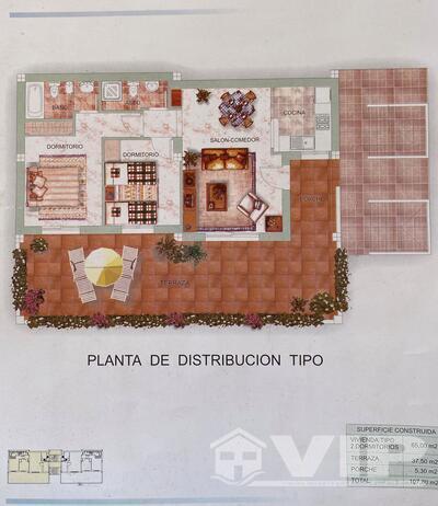 VIP7929: Appartement à vendre en Mojacar Playa, Almería