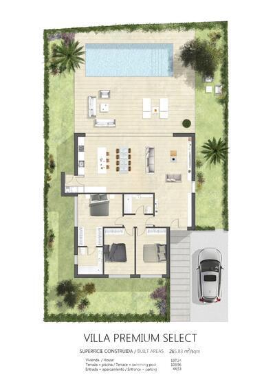 VIP7935: Villa à vendre en Valle del Este Golf, Almería