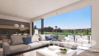 3 Habitaciones Dormitorio Villa en Valle del Este Golf